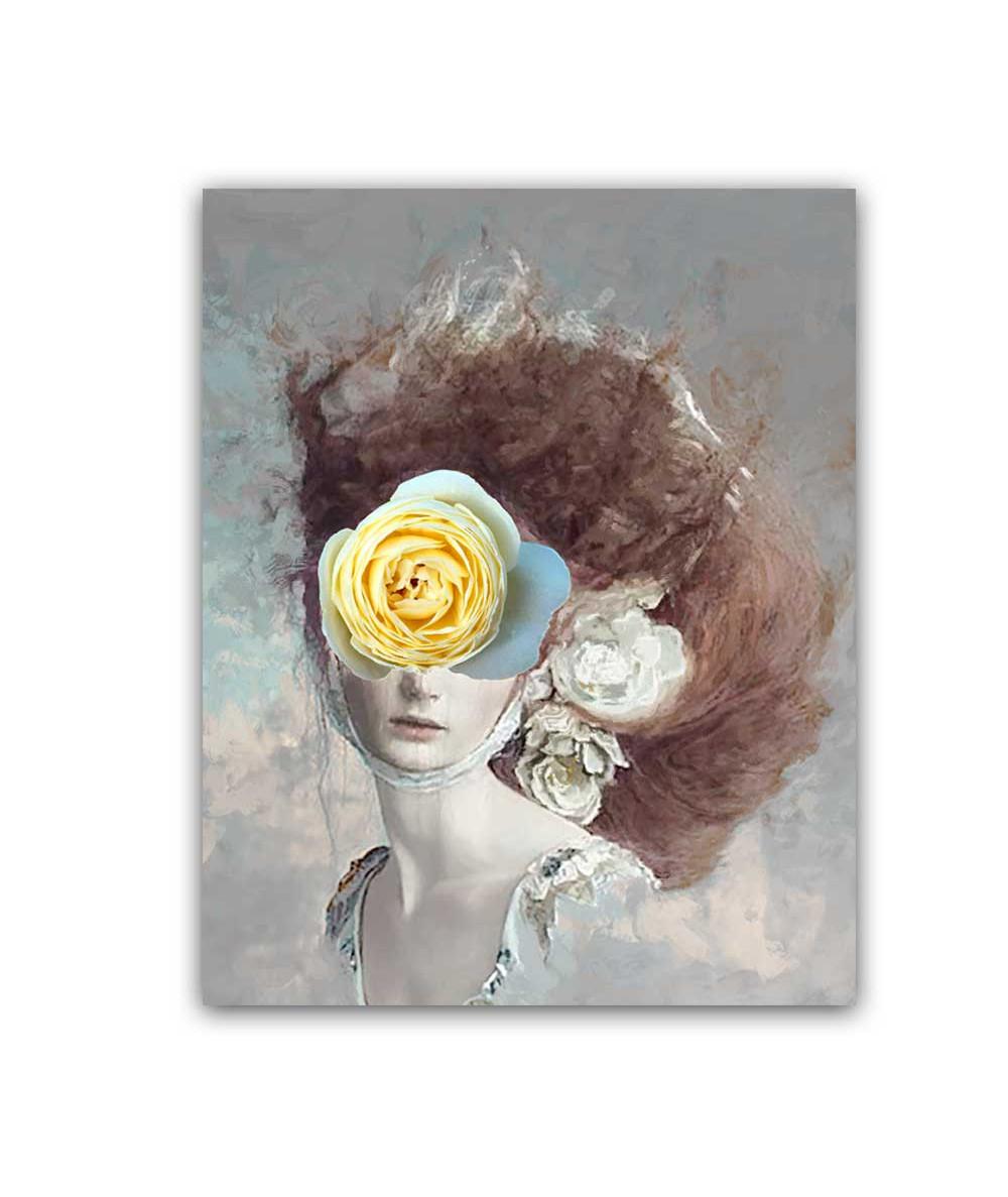 Obrazy kobieta - Obraz na płótnie na ścianę - Dolce
