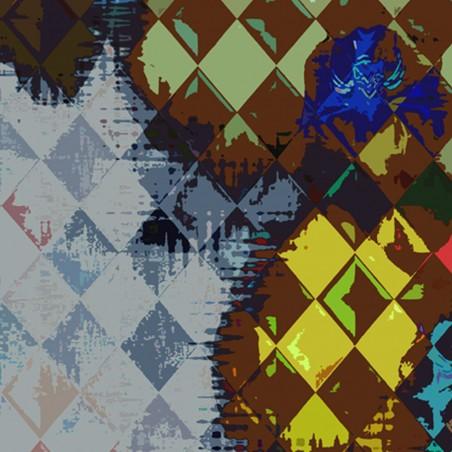 Obraz na płótnie Obraz na płótnie Storczyki Arlekin (1-częściowy) wąski