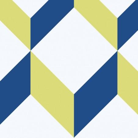 Obraz na płótnie Obraz 3d Małe bryły (1-częściowy) szeroki