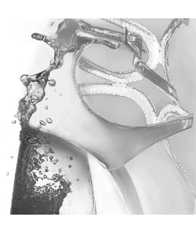 Obraz na płótnie Grafika moda Kobieta jak wino (1-częściowa) pionowa