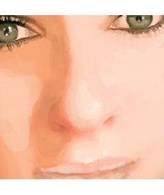 Obraz na płótnie Oczy Agnieszki