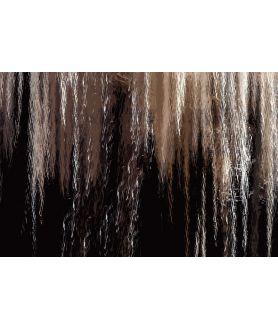 Obraz na płótnie Obraz ciemny Chwila relaksu 8 (1-częściowy) szeroki