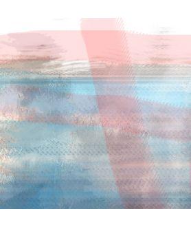Obraz na płótnie Obraz na ścianę Jezioro abstrakcja (1-częściowy) szeroki