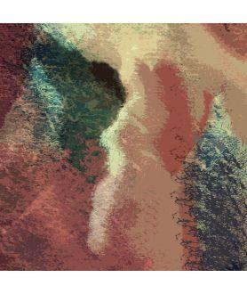 Obraz na płótnie Obraz liście na płótnie Inspiracja (1-częściowy) pionowy