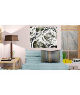 Obraz las na ścianę Korzenie akwarela 2 (1-częściowy)