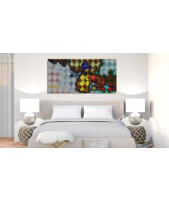 Storczyki Arlekin obraz plakat