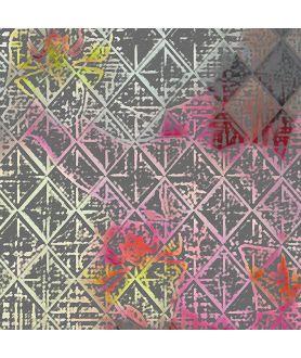 Obraz na płótnie Obraz Storczyki geometryczne (1-częściowy) wąski
