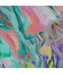 Obrazy abstrakcyjne - Abstrakcyjny obraz do salonu Tulipany magic