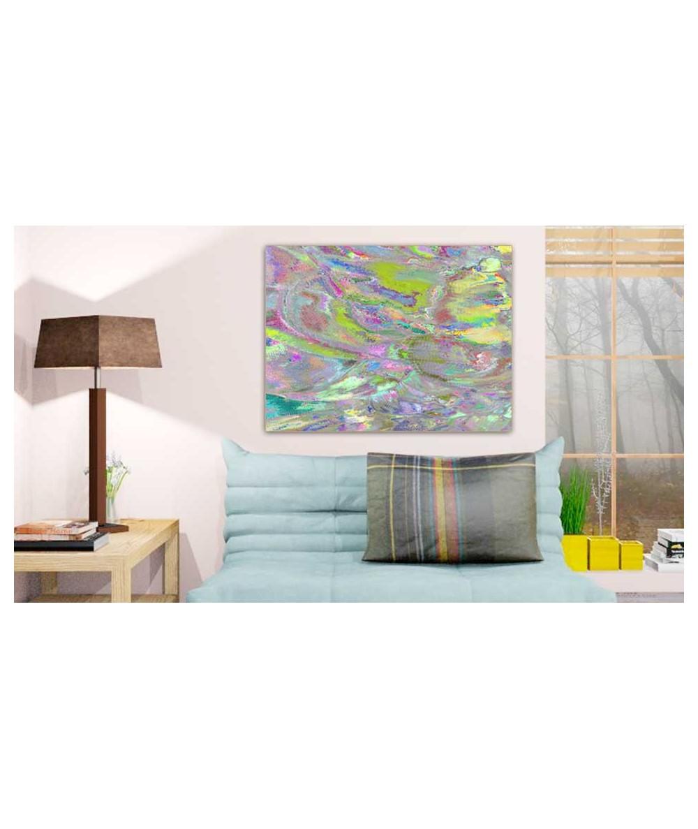 Obrazy abstrakcyjne - Obraz na płótnie Tulipany magic 2 (pionowy)