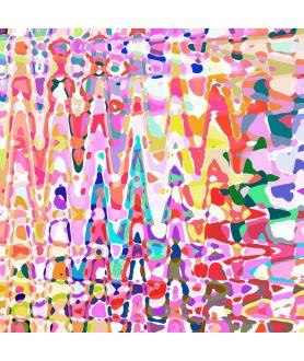 Obraz na płótnie Obraz abstrakcja na płótnie Deszcz (1-częściowy) szeroki