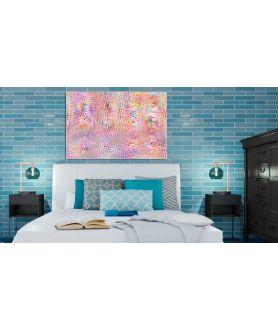 Obraz nowoczesny do sypialni Deszcz obraz plakat