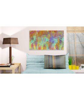 Obraz na płótnie Nowoczesny obraz na ścianę Pogoda art 2