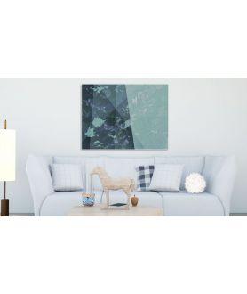 Obraz na płótnie Niebieskie góry (1-częściowy) pionowy