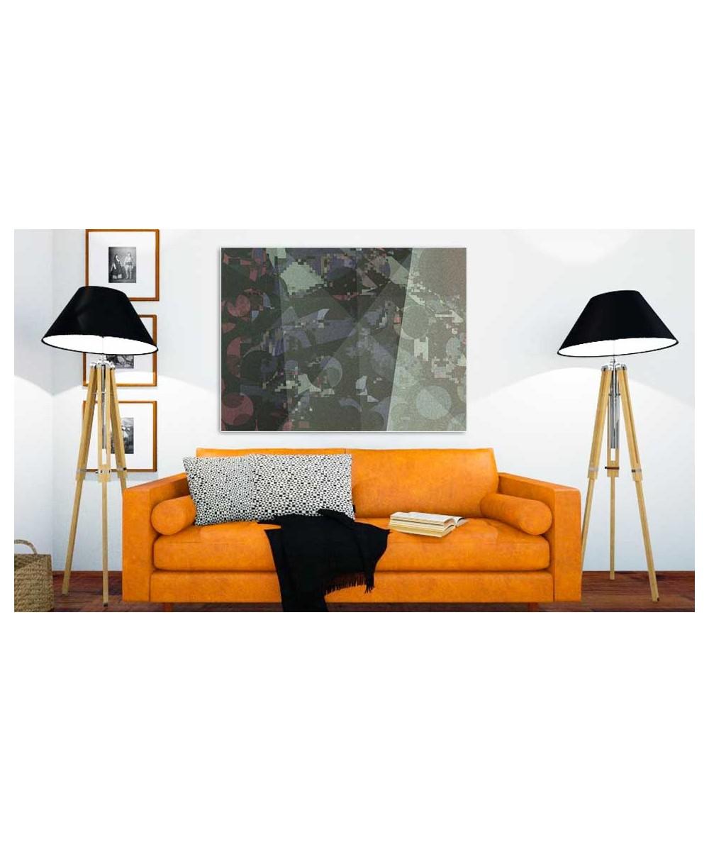 Obrazy geometryczne - Obraz nowoczesny na ścianę Krajobraz miejski