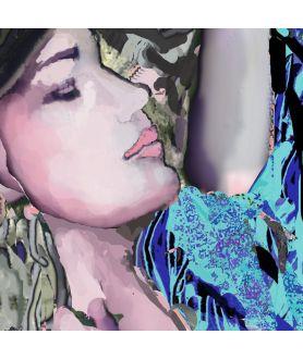 Obraz na płótnie Obraz na płótnie Sen kobiety (1-częściowy) szeroki