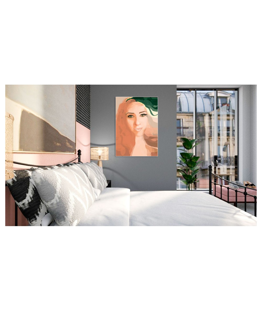 Obrazy kobieta - Obraz nowoczesny Oczy Agnieszki (1-częściowy) pionowy