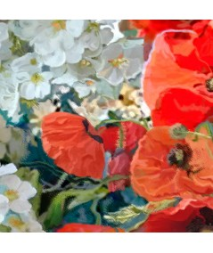 Obraz Maki dla Vincenta van Gogha, fragment, grafikiobrazy.pl