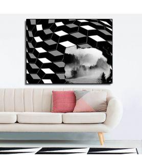 Obraz artystyczny Góry (1-częściowy) szeroki