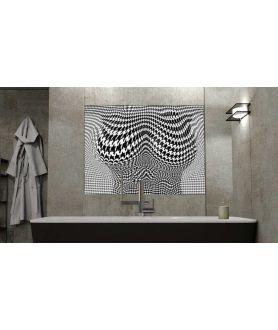 Obraz na płótnie Obraz akt nowoczesny Pepitka body, czarno biały obraz