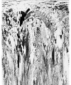 Obraz nowoczesny Szara mozaika (2-częściowy)