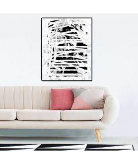 Obraz czarno biały Industrialny Portret 1 (1-częściowy) pionowy
