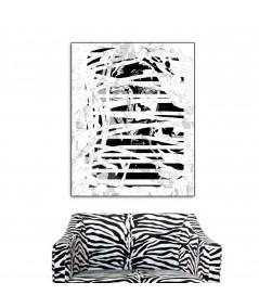 Nowoczesny obraz czarno biały, Industrialny portret 1, Renata Bułkszas Nowak