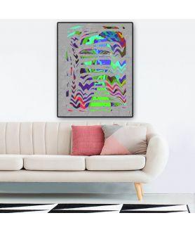 Kolorowe obrazy na ścianę, twarze, Face, grafikiobrazy.pl