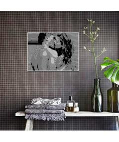 Pocałunek Coco obraz plakat