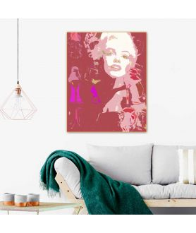 Grafika plakat fashion Choo i Monroe (1-częściowy) pionowy
