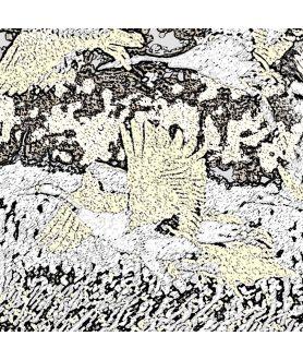 Obraz na płótnie Żurawie grafika