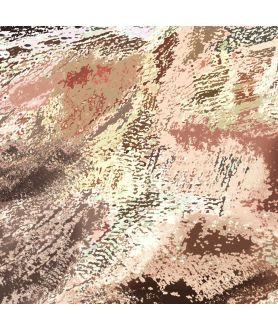 Obraz na płótnie Obraz pejzaż Góra i słońce (1-częściowy) szeroki