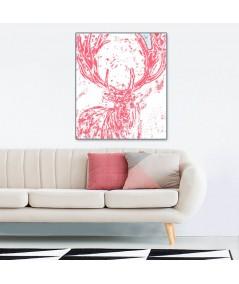 Obraz plakat dekoracyjny Rogi jelenia