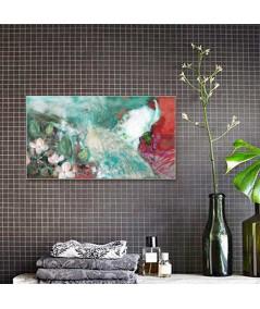 Obrazy zwierząt - Obraz z pawiem Paw w ogrodzie