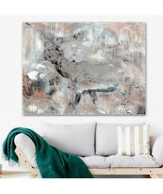 Obraz na płótnie Obraz canvas Jeleń (1-częściowy) szeroki