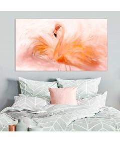 Obraz na płótnie Obraz zwierzak na ścianę Flaming akwarela