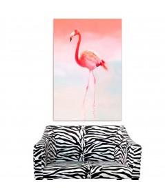 Obrazy ze zwierzętami, obrazy z flamingami, ptakami, pastelowe obrazy, grafikiobrazy.pl