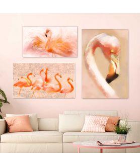 Obraz z flamingiem na ścianę Flaming portret
