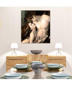 Obrazy na płótnie akt kobieta-meżczyzna, obraz na płótnie Pasja
