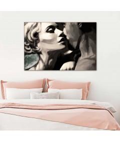 Obraz na płótnie Namiętny pocałunek obraz plakat