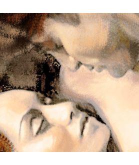 Obrazy akty - Akt malarstwo Pasja 2,obrazy na ścianę do sypialni