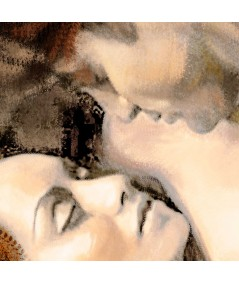 Akt malarstwo Pasja 2,obrazy na ścianę do sypialni