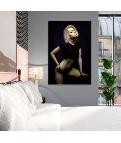 Młoda kobieta obraz plakat