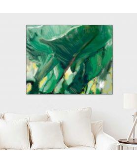 Obraz na płótnie Obrazy natury Cienie i liście