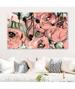 Kwiaty Maki polne obraz do salonu