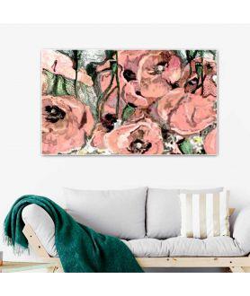 obrazy kwiaty Obraz prowansalski Maki polne (1-częściowy) szeroki