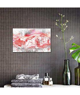 Obrazy do salonu samochody Aston luksus obrazy na płótnie