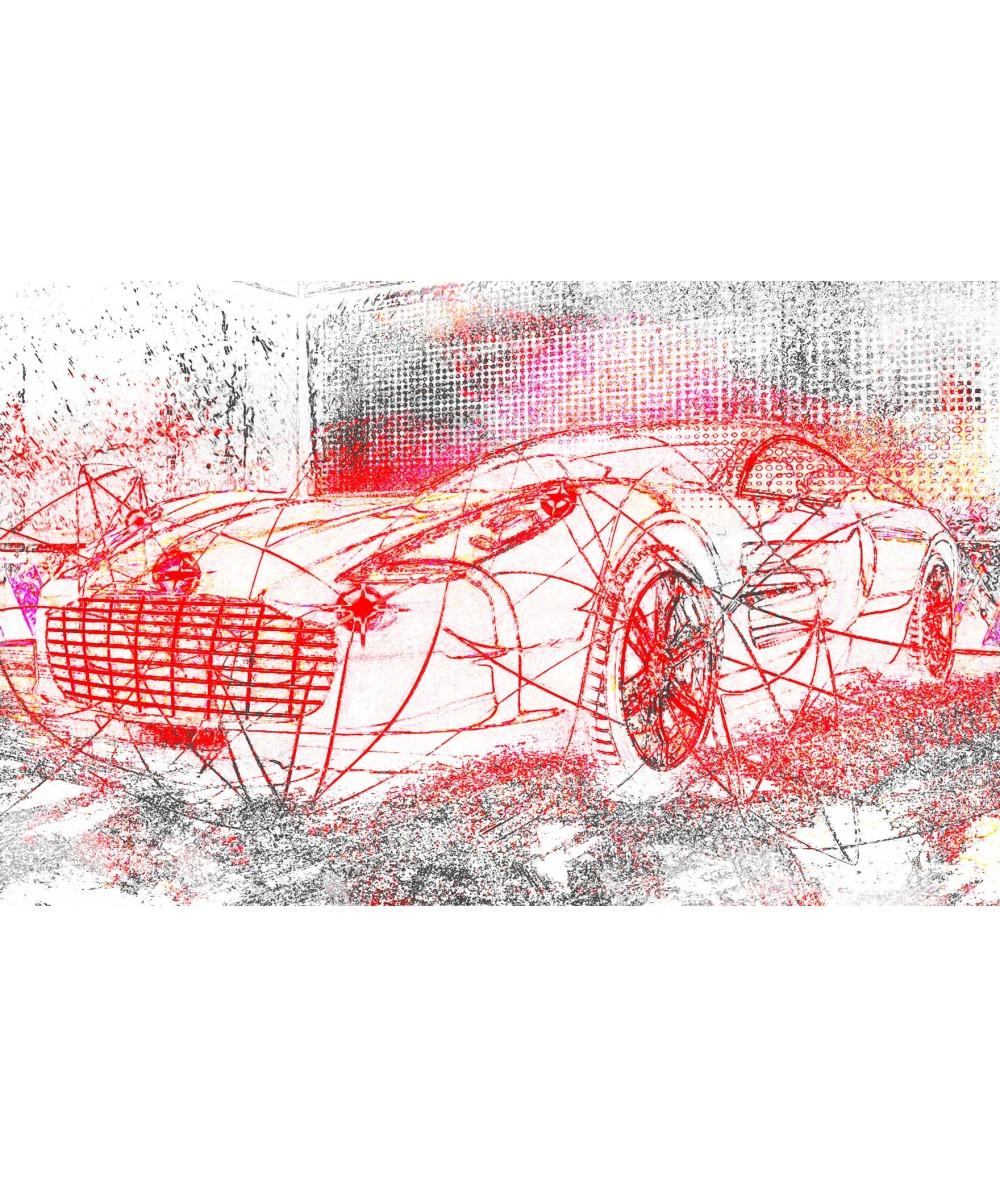 Dekoracja do salonu Obrazy do salonu samochody Aston luksus