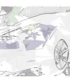 Obraz do salonu Aston type obraz plakat
