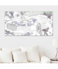 Dekoracja do salonu Obraz do salonu Aston type