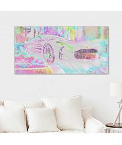 Grafika na ścianę do salonu Aston gang obraz plakat